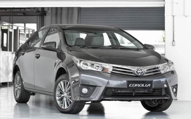 generación del sedán japonés, el totalmente renovado Corolla 2015