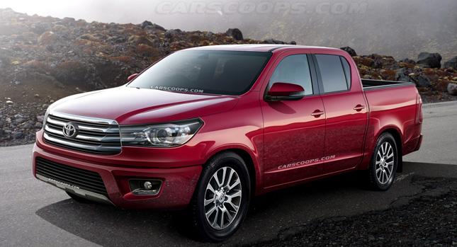 Proyección de la pickup Toyota Hilux 2015.   AUTO InfoBlog