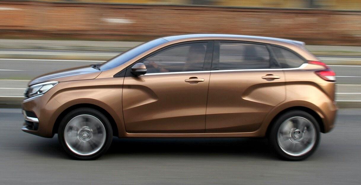 Sal n de rusia 14 lada vesta y x ray 2 concept auto for Lada 09 salon