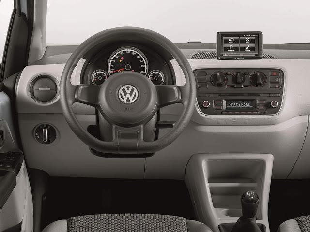Volkswagen Up!  ETI Turbo 2016 - movimiento en marcha!  - Cubierta